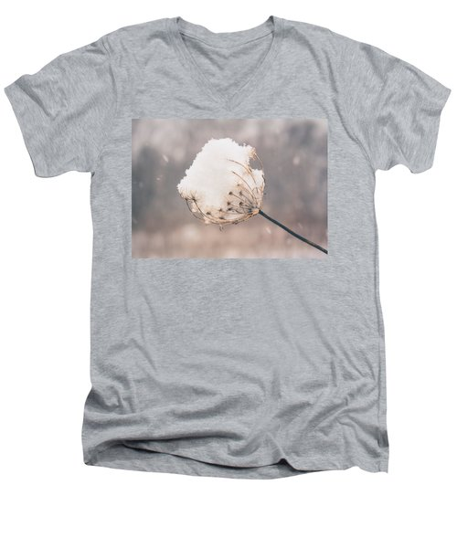 Winter Beauty Men's V-Neck T-Shirt
