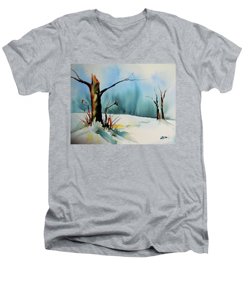 December River Men's V-Neck T-Shirt