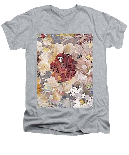 Winter Bouquet Men's V-Neck T-Shirt