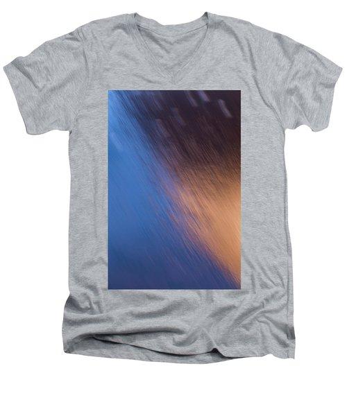 Winter Canyon Blues Men's V-Neck T-Shirt