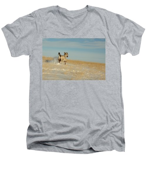 Winter Charger Men's V-Neck T-Shirt
