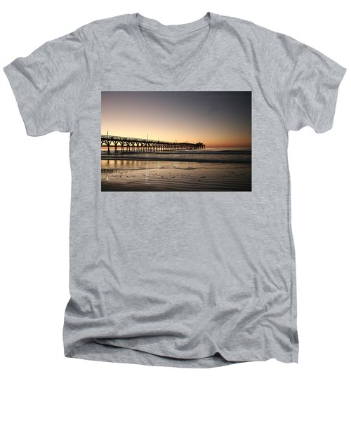 Winter Dawn Men's V-Neck T-Shirt
