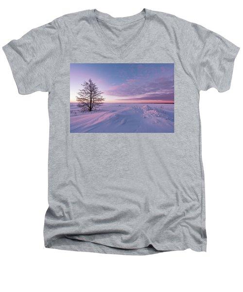 Winter Dreams Men's V-Neck T-Shirt
