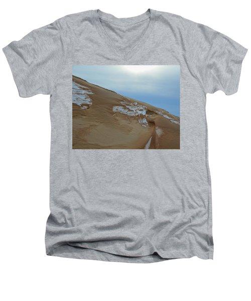 Winter Dune Men's V-Neck T-Shirt