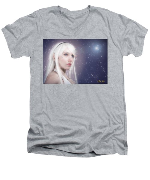 Winter Fae Men's V-Neck T-Shirt