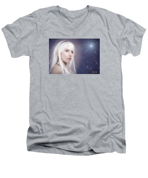 Winter Fae Men's V-Neck T-Shirt
