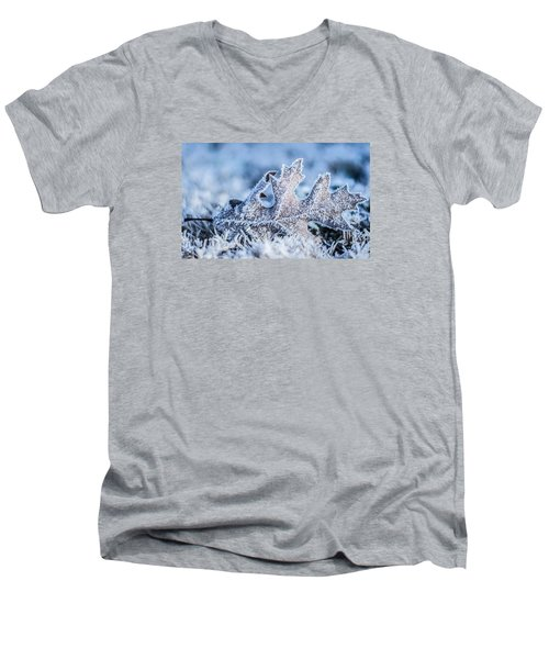 Winter Frost Men's V-Neck T-Shirt