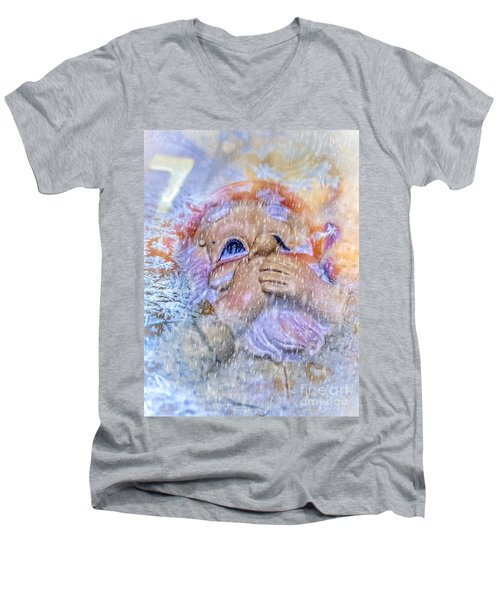 Winter Fun 2 Men's V-Neck T-Shirt