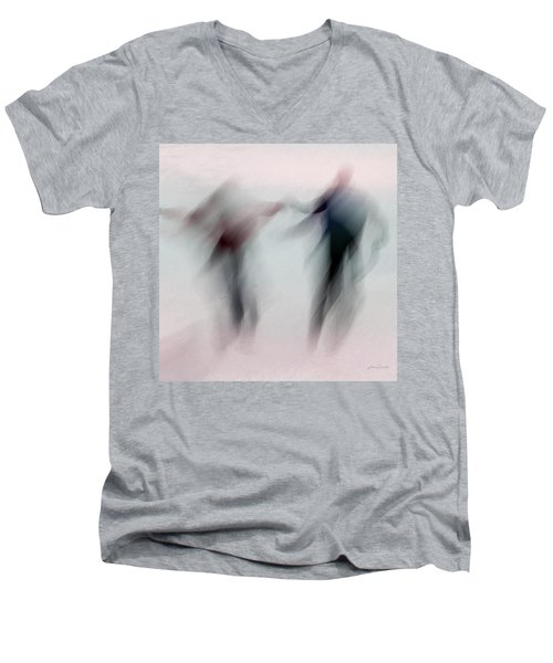 Winter Illusions On Ice - Series 1 Men's V-Neck T-Shirt