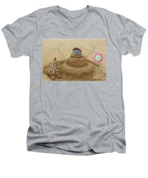 Winter In July Men's V-Neck T-Shirt