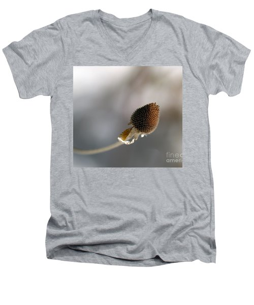 Winter Is Lurking Men's V-Neck T-Shirt by Irma BACKELANT GALLERIES