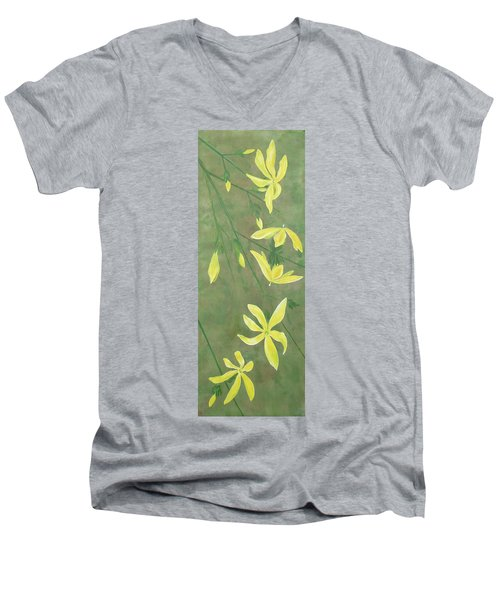 Winter Jasmine Men's V-Neck T-Shirt