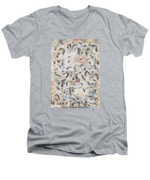 Winter Light Men's V-Neck T-Shirt