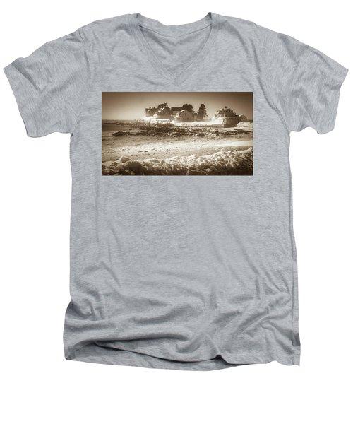 Winter - Lord's Point - Kennebunk Men's V-Neck T-Shirt