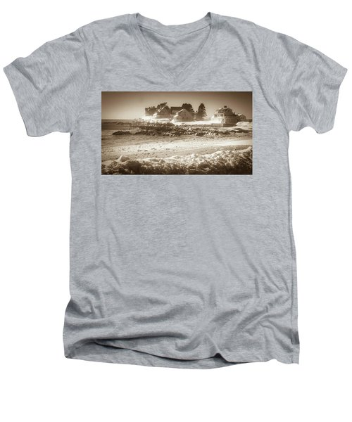 Winter - Lord's Point - Kennebunk Men's V-Neck T-Shirt