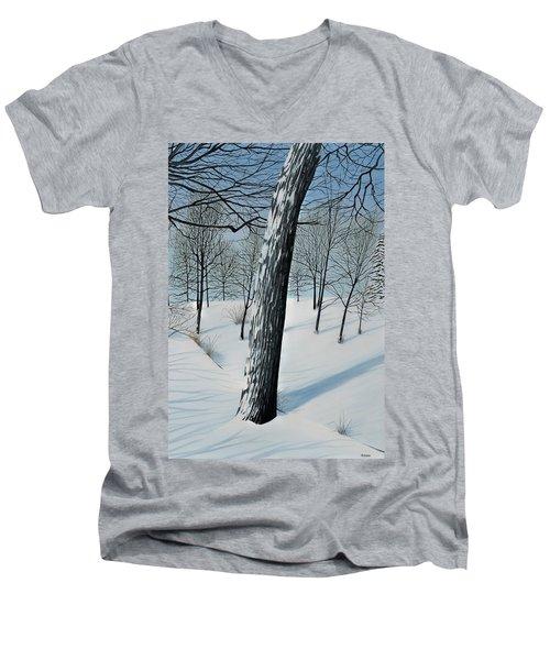 Winter Maple Men's V-Neck T-Shirt