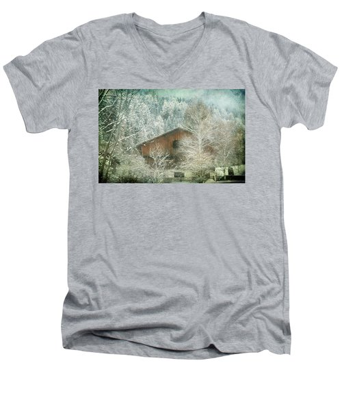 Winter Mood Men's V-Neck T-Shirt