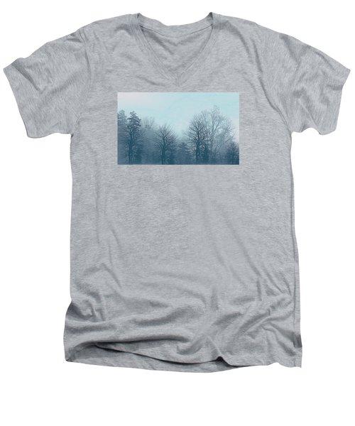 Winter Morning Men's V-Neck T-Shirt