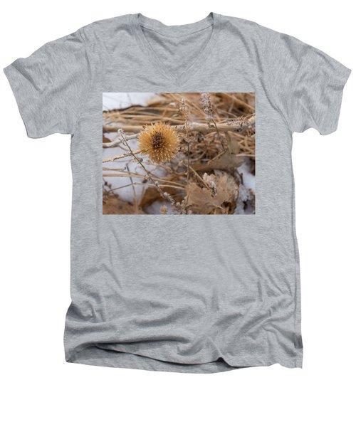Winter On The Range Men's V-Neck T-Shirt