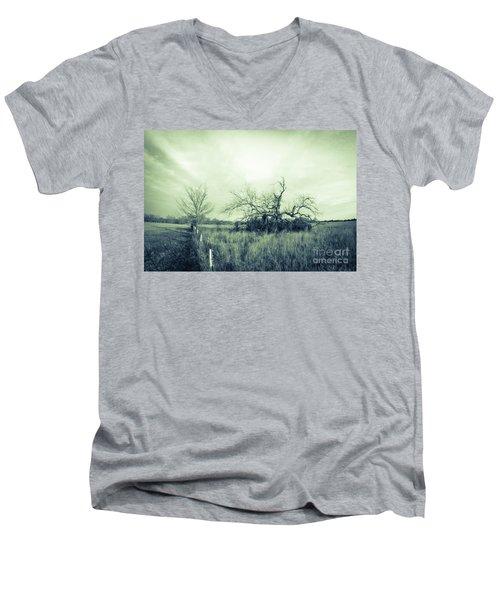 Winter Pecan Men's V-Neck T-Shirt