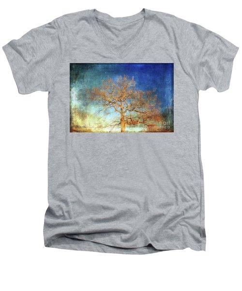 Winter Promise Men's V-Neck T-Shirt