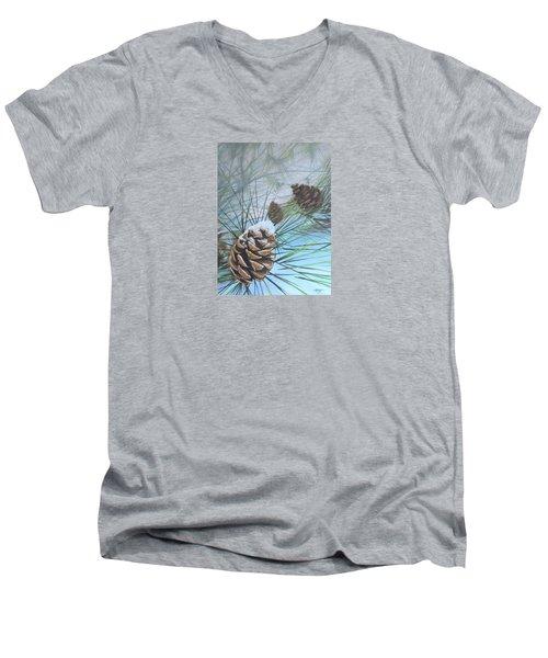 Winter Silence Men's V-Neck T-Shirt