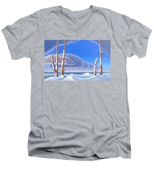 Winter Solace Men's V-Neck T-Shirt