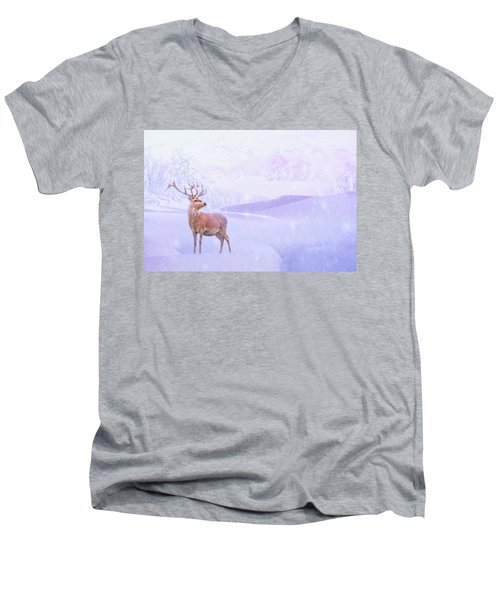 Winter Story Men's V-Neck T-Shirt