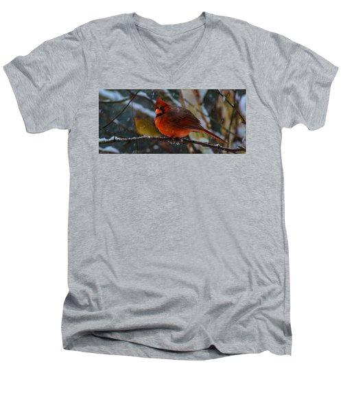 Winter Twosome  Men's V-Neck T-Shirt
