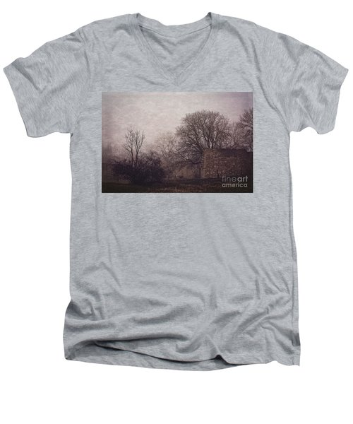 Winter Without Snow Men's V-Neck T-Shirt