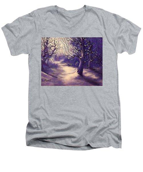 Winter's Beauty Men's V-Neck T-Shirt