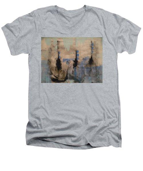 Winters Dream Men's V-Neck T-Shirt
