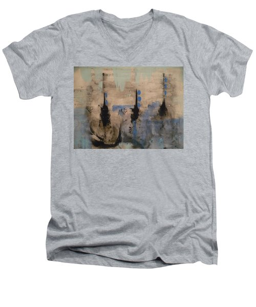 Winters Dream Men's V-Neck T-Shirt