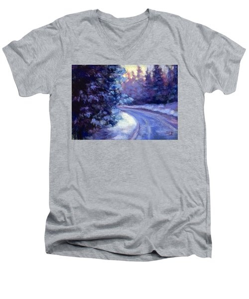 Winter's Exodus Men's V-Neck T-Shirt