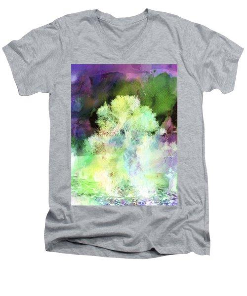 Winters Storm Men's V-Neck T-Shirt