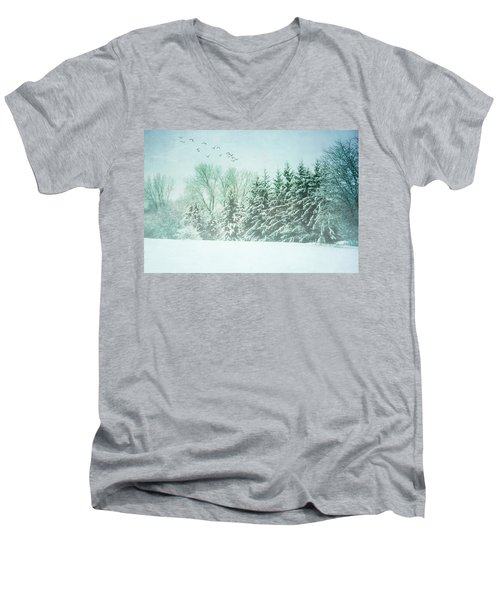 Winter's Watch Men's V-Neck T-Shirt