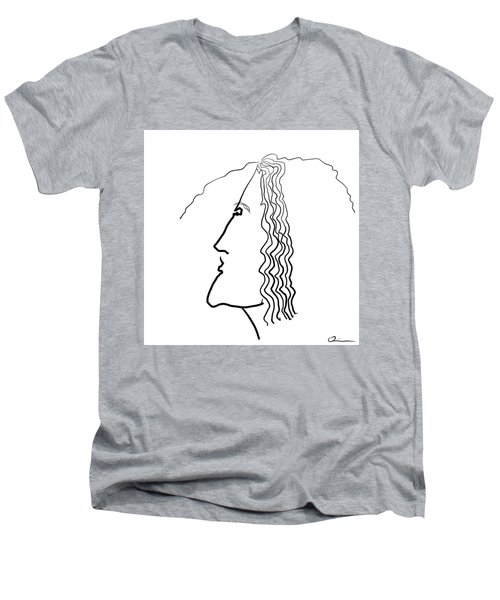 Wire Men's V-Neck T-Shirt