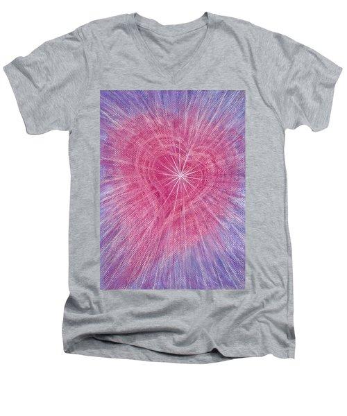 Wisdom Of The Heart Men's V-Neck T-Shirt