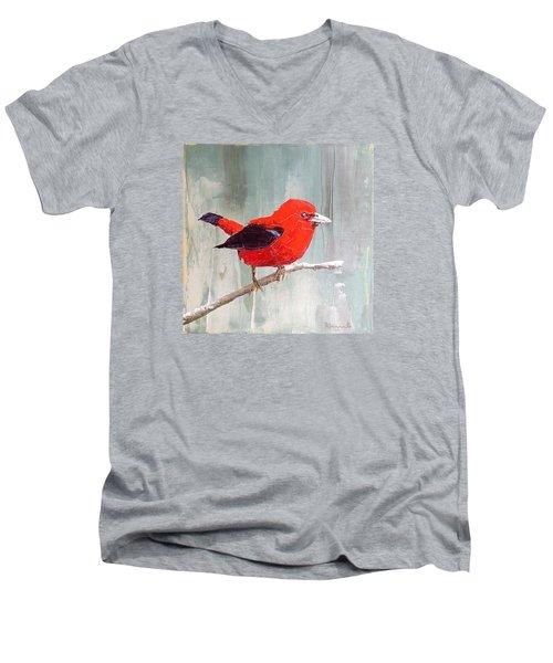 Wise Guy Men's V-Neck T-Shirt