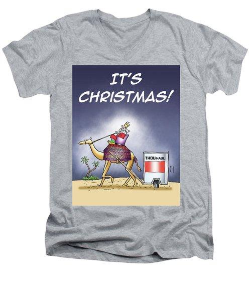 Wise Man Trailer Men's V-Neck T-Shirt