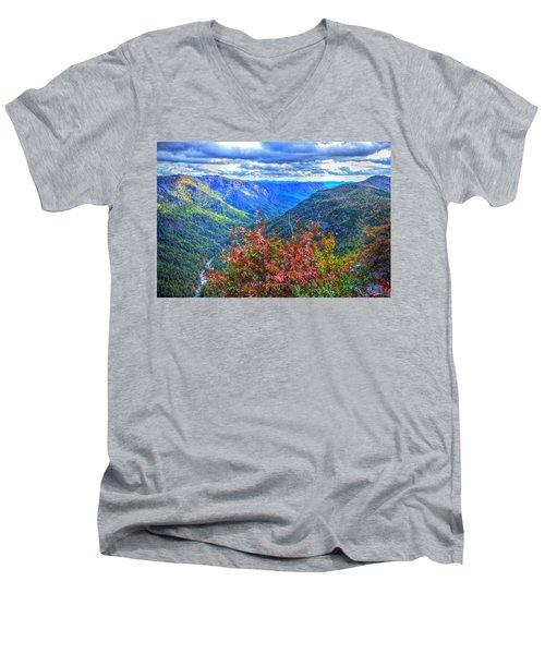 Wiseman's View Men's V-Neck T-Shirt