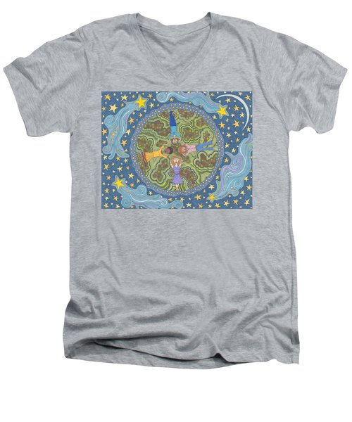 Wish Upon A Star Men's V-Neck T-Shirt