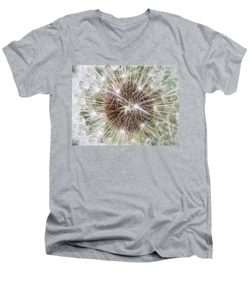 Wishful Thinking Men's V-Neck T-Shirt by Mindy Newman