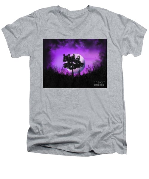Witch Moon Men's V-Neck T-Shirt