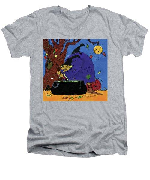 Witch's Brew Men's V-Neck T-Shirt