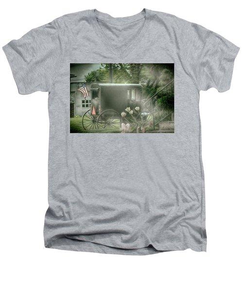 With Deepest Sympathy  Men's V-Neck T-Shirt