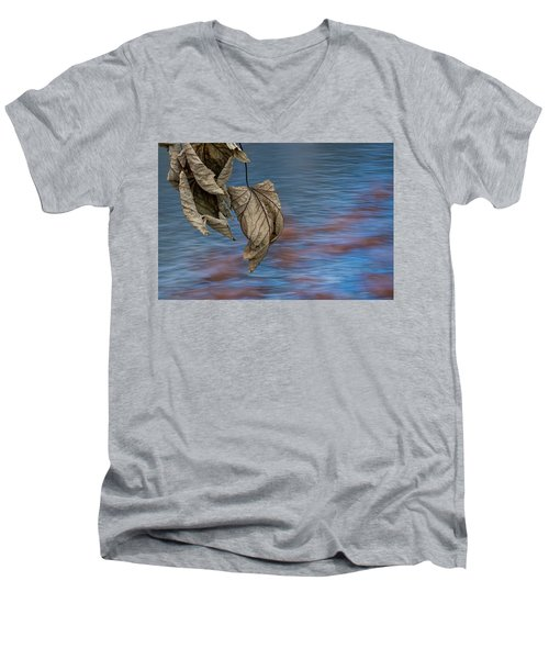 Withered Leaves Men's V-Neck T-Shirt