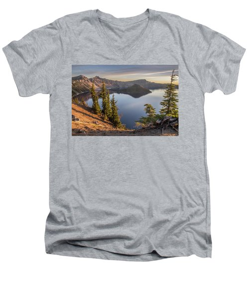 Wizard Island Beauty Men's V-Neck T-Shirt