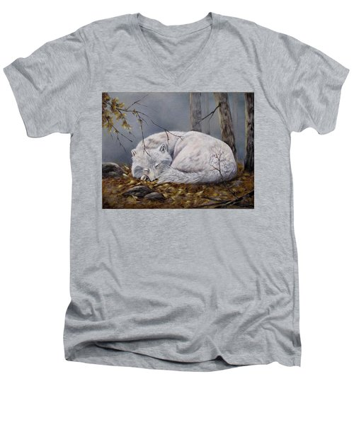 Wolf Dreams Men's V-Neck T-Shirt