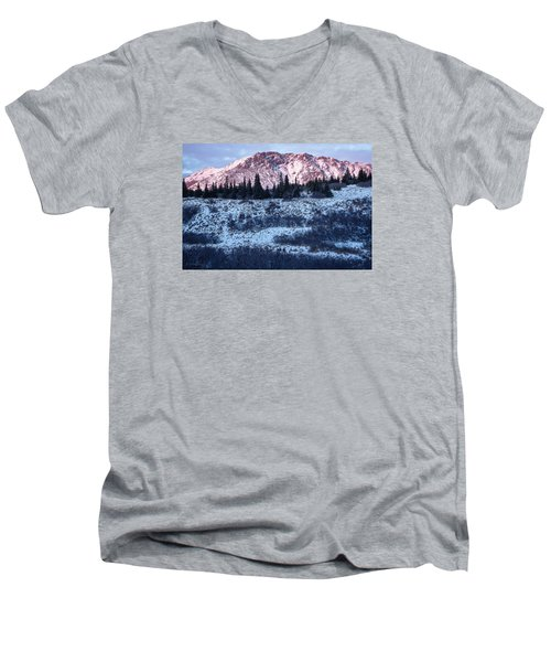 Wolverine Alpenglow Men's V-Neck T-Shirt